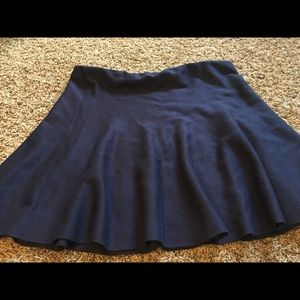 DownEast Skirts - Navy Blue Flutter Skirt